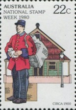 [National Stamp Week, type UQ]