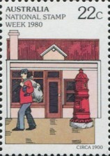 [National Stamp Week, type US]