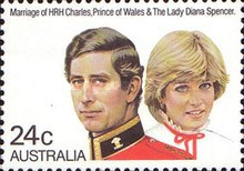 [The Wedding of Prince Charles and Lady Diana Spencer, type VZ]