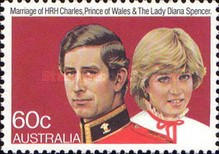 [The Wedding of Prince Charles and Lady Diana Spencer, type VZ1]