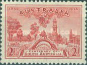[The 100th Anniversary of South Australia, type W]