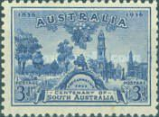 [The 100th Anniversary of South Australia, type W1]
