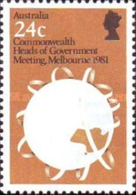 [Commonwealth Heads of Government Meeting, type WI]