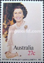 [The 56th Anniversary of the Birth of Queen Elizabeth II, type WZ]