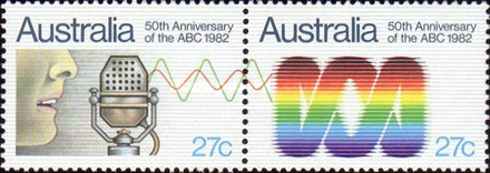 [The 50th Anniversary of the ABC, type XF]