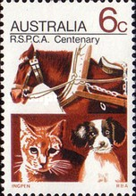 [The 100th Anniversary of the Royal Society for the Prevention of Cruelty to Animals, type XLN]