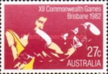 [The 12th Anniversary of the Commonwealth Games - Brisbane, type XQ]