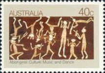 [The Culture of Aborigines - Music and Dancing, type XX]