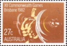 [The 12th Anniversary of the Commonwealth Games - Brisbane, type XXS]