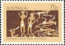 [The Culture of Aborigines - Music and Dancing, type XZ]