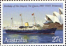 [The 57th Anniversary of the Birth of Queen Elizabeth II, type ZX]