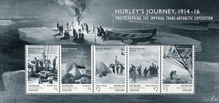 [The 100th Anniversary of the Jurney of James Francis Hurley, 1885-1962, Typ ]
