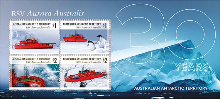 [Ships - The 30th Anniversary of RSV Aurora Australis, Typ ]