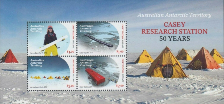 [The 50th Anniversary of the Casey Research Station, Typ ]