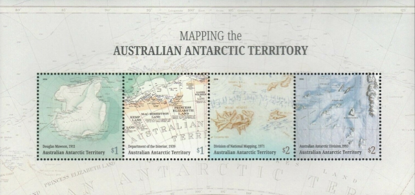 [Mapping the Australian Antarctic Territory, type ]