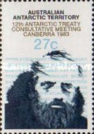 [The 12th Anniversary of the Antarctic Treaty Consultative Meeting - Canberra, Typ BH]