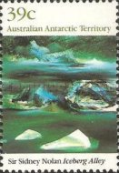 [Antarctic Landscape Paintings by Sir Sidney Nolan, Typ CG]