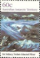 [Antarctic Landscape Paintings by Sir Sidney Nolan, Typ CH]