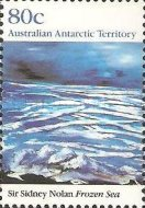 [Antarctic Landscape Paintings by Sir Sidney Nolan, Typ CI]