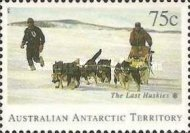 [Departure of Huskies from Antarctica, Typ CU]