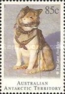 [Departure of Huskies from Antarctica, type CV]
