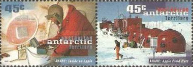 [The 50th Anniversary of the Australian National Antarctic Research Expeditions, Typ DG]