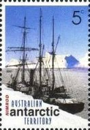 [The 100th Anniversary of the Australian Antarctic Exploration, type DW]