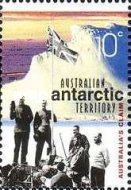 [The 100th Anniversary of the Australian Antarctic Exploration, type ED]