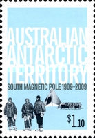 [South Magnetic Pole 1909-2009, Typ FW]