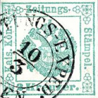 [Newspaper Revenue Stamps - Large Crown, Typ A]