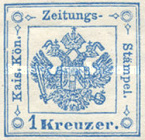 [Newspaper Revenue Stamps - Large Crown, type B]