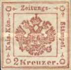 [Newspaper Revenue Stamps - Large Crown, type B1]