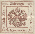 [Newspaper Revenue Stamps - Large Crown, type B2]