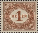 [Numeral Stamps - New Currency and Perforated, type B12]