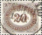 [Numeral Stamps - New Currency and Perforated, type B21]