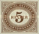 [Numeral Stamps - New Currency, type B4]