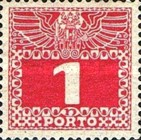 [Numeral Stamps with Double Eagle, type C]