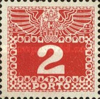 [Numeral Stamps with Double Eagle, Typ C1]