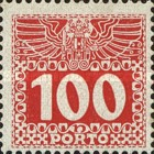 [Numeral Stamps with Double Eagle, Typ C10]