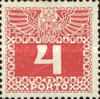 [Numeral Stamps with Double Eagle, Typ C2]