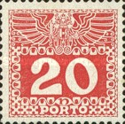 [Numeral Stamps with Double Eagle, Typ C6]
