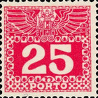 [Numeral Stamps with Double Eagle, Typ C7]