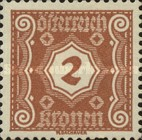 [Numeral Stamps - New Design, Typ M1]