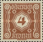 [Numeral Stamps - New Design, Typ M2]