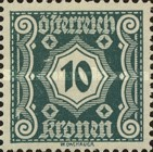 [Numeral Stamps - New Design, Typ M5]