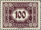 [Numeral Stamps - New Design, Typ O]