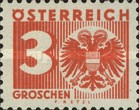 [Numeral Stamp with Coat of Arms, type R2]