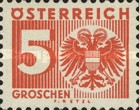 [Numeral Stamp with Coat of Arms, type R3]