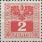 [Numeral Stamps with Eagle, type U1]