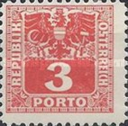 [Numeral Stamps with Eagle, type U2]